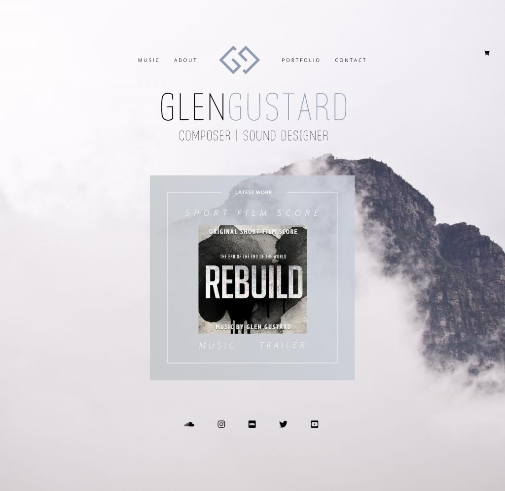 glen gustard website